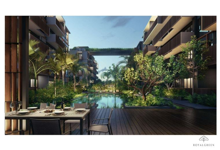 Royal Green is situated in the prime District 10, Bukit Timah which is well situated close to the city centre and other prominent places serving the future residents great convenience.